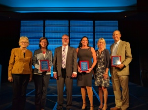 Last year's recipients of the National Health Security Award.